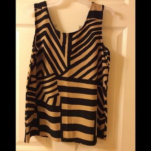 Chico's Tribal Glory Contemporary Tank Top NWOT